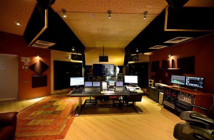 """Studio """"A"""" Control Room"""