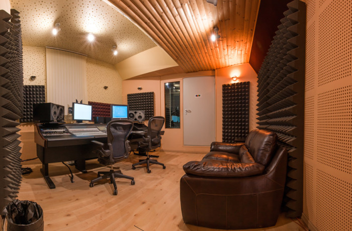 "Studio ""B"" Control Room"